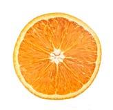Metà dell'arancio fotografia stock