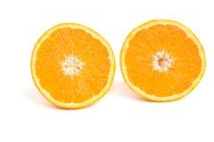 Metà dell'arancio Fotografie Stock