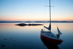 Metà dell'estate nell'arcipelago di Stoccolma Fotografia Stock Libera da Diritti