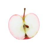 Metà della mela isolata. Immagini Stock Libere da Diritti