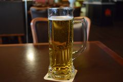 Metà di bevanda di giorno Fotografia Stock Libera da Diritti