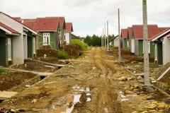 Metà di progetto livellato Bogor contenuto foto della residenza Immagine Stock Libera da Diritti