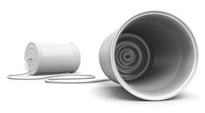 Metáfora de las telecomunicaciones Imagen de archivo libre de regalías