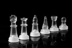 Metáfora del ajedrez Imágenes de archivo libres de regalías