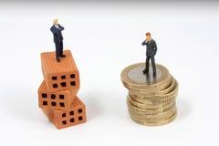 Metáfora do negócio do investimento Imagem de Stock Royalty Free