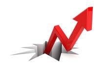 Metáfora do sucesso Imagem de Stock Royalty Free