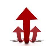 Metáfora do sucesso Imagens de Stock