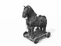 Metáfora Trojan do vírus Imagens de Stock Royalty Free