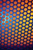 Metálicos backlit shinny o fundo Fotografia de Stock