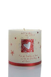 Met al mijn liefde candel Royalty-vrije Stock Afbeelding
