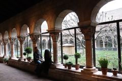 The Met Cloisters, The Metropolitan Museum of Art stock image