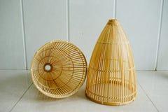 Met de hand gemaakt bamboe royalty-vrije stock foto's