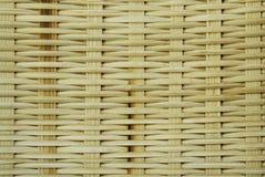 Met de hand gemaakt bamboe Stock Foto's