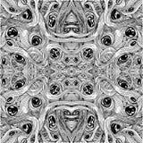 Met de hand gemaakt grafiek naadloos patroon, Royalty-vrije Stock Foto