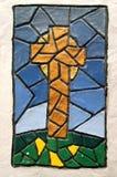Met de hand gemaakt Kruis stock afbeelding