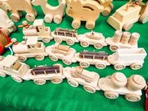 Met de hand gemaakt speelgoed Royalty-vrije Stock Afbeeldingen