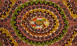 Met de hand gemaakt tapijt Royalty-vrije Stock Afbeelding