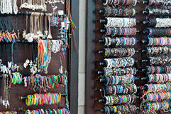 Met de hand gemaakte Afrikaanse beadwork Royalty-vrije Stock Foto
