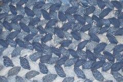 Met de hand gemaakte Blauwe Denimdeken Royalty-vrije Stock Fotografie