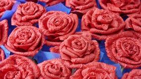 Met de hand gemaakte bloemen Stock Foto's