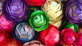 Met de hand gemaakte bloemen Stock Afbeelding