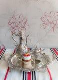 Met de hand gemaakte cake Royalty-vrije Stock Afbeeldingen