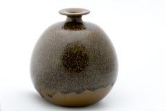 Met de hand gemaakte ceramische vaas Stock Afbeeldingen