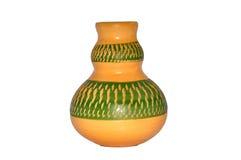 Met de hand gemaakte Colourfeul Clay Pottery Royalty-vrije Stock Foto's