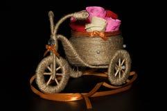Met de hand gemaakte decoratieve driewieler Royalty-vrije Stock Foto's