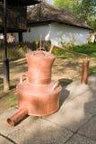 Met de hand gemaakte distilleerderij Royalty-vrije Stock Afbeeldingen