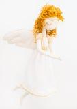 Met de hand gemaakte engelenpop Stock Afbeeldingen