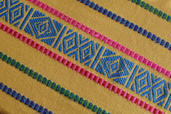Met de hand gemaakte geweven Guatemalaanse stof Royalty-vrije Stock Fotografie