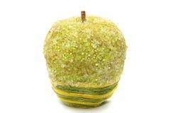 Met de hand gemaakte groene appel Royalty-vrije Stock Afbeeldingen