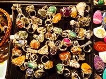 Met de hand gemaakte juwelen Royalty-vrije Stock Afbeeldingen