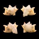 Met de hand gemaakte katten Royalty-vrije Stock Afbeelding