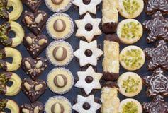 Met de hand gemaakte Kerstmiskoekjes Royalty-vrije Stock Foto