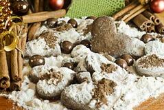 Met de hand gemaakte koekjes met aroma Stock Fotografie