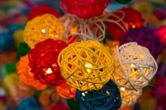 Met de hand gemaakte lamp Royalty-vrije Stock Afbeeldingen