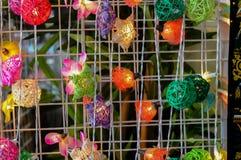 Met de hand gemaakte lantaarn Stock Foto's