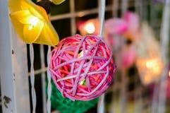 Met de hand gemaakte lantaarn Royalty-vrije Stock Foto
