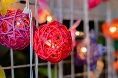 Met de hand gemaakte lantaarn Stock Afbeeldingen