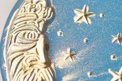 Met de hand gemaakte maanzeep Stock Foto