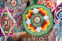 Met de hand gemaakte mandalas Royalty-vrije Stock Afbeeldingen