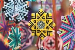Met de hand gemaakte mandalas Royalty-vrije Stock Foto's