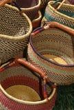 Met de hand gemaakte manden # 2 Royalty-vrije Stock Afbeelding