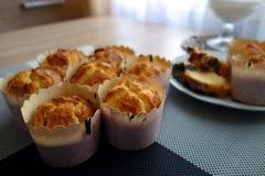Met de hand gemaakte muffins Stock Afbeelding