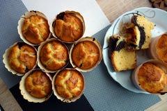 Met de hand gemaakte muffins Stock Fotografie