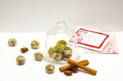 Met de hand gemaakte Natuurlijke snoepjes Royalty-vrije Stock Foto's
