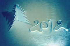 Met de hand gemaakte Nieuwe jaarsymbolen Stock Afbeeldingen