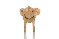 Met de hand gemaakte olifant Royalty-vrije Stock Afbeeldingen